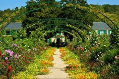 Claude Monet's Garden Rue Claude Monet, Giverny, France