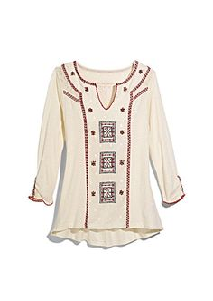 #contest @marshalls Love this embroidered top