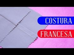 Tutorial: Costura francesa - YouTube