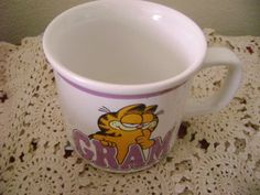 Garfield Coffee Tea Mug GRAM 1978 Enesco 10 by SevenSistersBooks