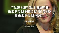 J.K. Rowling Quotes, Harry Potter, And Books! #JKRowling #DiegoVillena #FreedomWithDiego