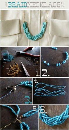 c0347954565a Navegando por la red he podido recopilar algunos accesorios que están muy  de moda y que podemos fabricar en casa de forma sencilla. Espero que os  guste y lo ...