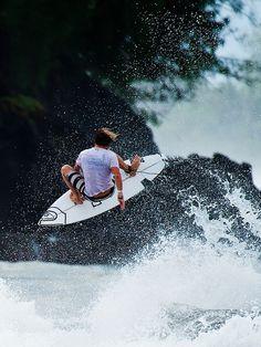 Dane Reynolds... in Tahiti...