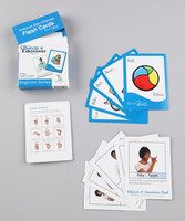 Learn to communicate with little ones long before they speak with the hit Sign2Me program trusted by over a million users worldwide! These durable flash cards feature colorful artwork on the front and directions on signing the word and pronouncing it in English and Spanish on the reverse. They're paired with a tri-fold guide featuring instructions and illustrations of specific American Sign Language hand shapes for further learning.