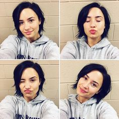 Pin for Later: 20 Reasons Demi Lovato Is Our #FitCrush Demi has spearheaded #NMM That's No-Makeup Monday. Demi promotes self-confidence, self-love, and being your best self.
