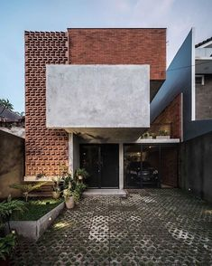 TH House Jakarta By . TH House Jakarta By . Photograph by . The post . TH House Jakarta By . Photo 2019 appeared first on Architecture Decor. Modern Architecture House, Facade Architecture, Amazing Architecture, Architecture Quotes, Brick Design, Facade Design, Exterior Design, Brick Facade, Facade House
