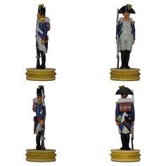 """""""Voltigeur"""" de la Línea (infantería ligera) de la colección """"Napoleón Ajedrez : la batalla de Jena"""" de Altaya - Subido desde www.elgrancapitan.org"""
