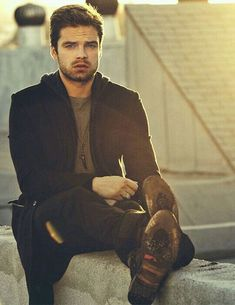 photos of Sebastian Stan just because… Sebastian Stan, Bucky Barnes, Stan Lee, Model Tips, Winter Soldier Bucky, Bae, Man Thing Marvel, Marvel Actors, Marvel Characters