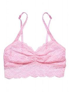 Lace Bralette - Victoria's Secret PINK - Victoria's Secret