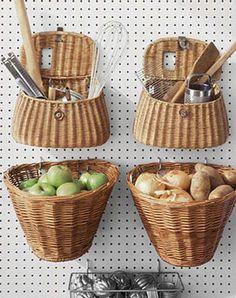Great DIY Kitchen Organization Ideas Hanging Baskets - 19 Great DIY Kitchen Organization Ideas potatoes and onions together?Hanging Baskets - 19 Great DIY Kitchen Organization Ideas potatoes and onions together?