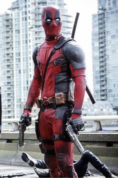 #Deadpool #Fan #Pic. (Deadpool in his new Movie) By: Tumbler. (To watch the latest Dead pool trailer, simply tap the URL below while in your browser: http://m.youtube.com/watch?v=Q6sS0qWzTdg  P.S. MUST BE 18 AT LEAST TO VIEW, NO KIDS ALLOWED! (THE * 5 * STÅR * ÅWARD * OF: * AW YEAH, IT'S MAJOR ÅWESOMENESS!!!™)[THANK U 4 PINNING!!!<·><]<©>ÅÅÅ+(OB4E)