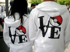 Matching hoodies want!