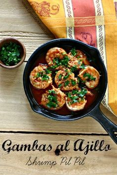 Shrimp Pil Pil Tapas (Gambas al Ajillo) by Everyday Maven.