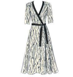 B5030 Misses' Dress, Belt & Sash | Easy
