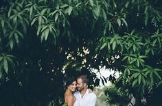 Intimate Mexico Wedding: Mila + Shawn  Intimate Mexico Wedding: Mila + Shawn photography: Jillian Mitchell // venue, catering + cake: Verana Yelapa, Mexico // wedding dress: Thai Nguyen Couture // hairpieces: coral found at Verana // shoes: Nicholas Kirkwood // groom suit: Dior Homme //