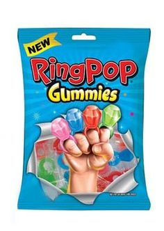 Ring Pop Gummies are cute, delicious and unique! Shop our Ring Pop selection here! Little Girl Makeup Kit, Chocolate Candy Brands, Minnie Mouse Cookies, Circus Birthday, Birthday Cake, Kids Winter Fashion, Baby Doll Accessories, Kids Calendar, Icecream Bar