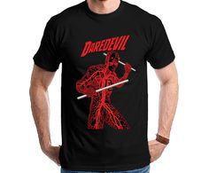 Daredevil - The Man Without Fear Tshirt Camiseta Camisa Tee
