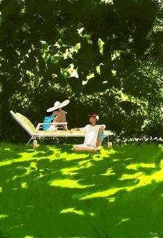 ¿Como no gustar de un grupo de cálidas ilustraciones? Pascal Campion nos trae trabajos con los que es fácil identificarse, nos recuerda esos momentos de la infancia en lías coa que te divertías tus…