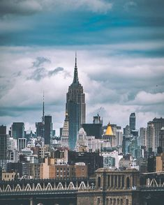 Central Park, Empire State Building, Places Around The World, Around The Worlds, Ny Skyline, New York Photos, City Landscape, New York City, Beautiful Places