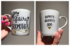 Fairy Godmother Mug Future Godmother Pregnancy by DimplesAndSass