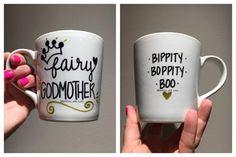 Fairy Godmother Mug Future Godmother Pregnancy by DimplesAndSass