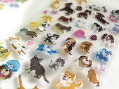Happy pet cat and pet dog Sticker glitter by StickersKingdom