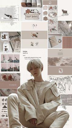 Kyungsoo, Chanyeol Cute, Chanbaek, Baekhyun Wallpaper, Kpop Backgrounds, Exo Lockscreen, K Wallpaper, Beige Aesthetic, Exo Fan