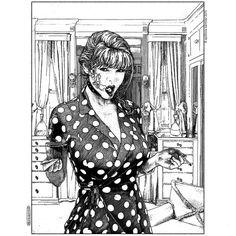 Apollonia Saintclair, La remarque desobligéante on ArtStack #apollonia-saintclair #art