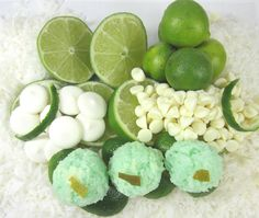 Cool and Refreshing...key lime and white chocolate coconut macaroons at  www.lilybloomskitchen.com