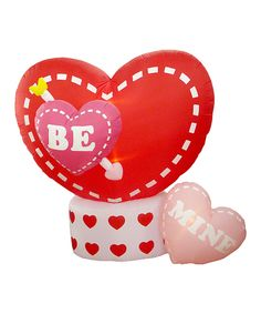 Take a look at this 8 Foot Animated Valentine's Day Inflatable Hearts - Heart Rotates today!