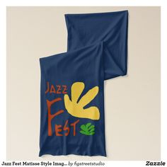 Shop Jazz Fest Matisse Style Images Scarf created by figstreetstudio. Jazz Music, Matisse, Shopping, Image, Style, Stylus, Jazz