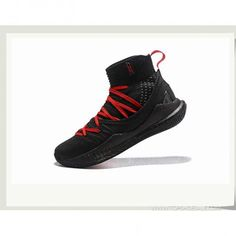 2aa7ad5165ed Under Armour Curry 5 Hight 1298307-101 Black RED Basketball