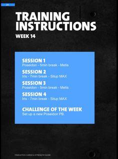 Décimo cuarta semana de trabajo. #week14 #freeletics