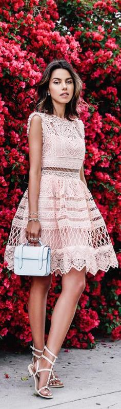 Fit and Flare Dress / Fashion by VivaLuxury