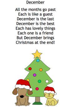 December Poem for Kids: Free download