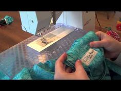 """Ring Sling Tutorial - YouTube ~ mine did not turn out quite like hers and I had to make a couple adjustments but it was still pretty simple. I need 3"""" rings next time also."""