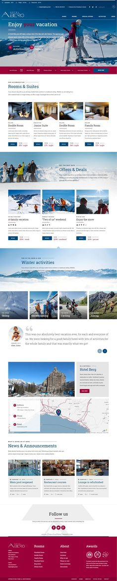 Hotel California is a WordPress Theme exclusively built for #winterhotel, hostel, private accommodation, bed and breakfast or #resort #websites. It is fully Responsive, Retina Ready and Easy to customize.