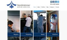 We revamped our home page. What do you think? Constructive Feedback is always appreciated. #nordmanner #boat #bateau #mtl #photooftheday #sailing #boatrepairshop