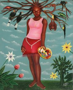 Femme surchargée (2005) by Pierre Bodo - Pigozzi Collection 2014 - Contemporary African Art Collection