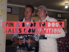 9. [DONE] Win a door-to-door sales competition