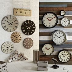 BuyNewgate Battersby Wall Clock, Dia.50cm Online at johnlewis.com