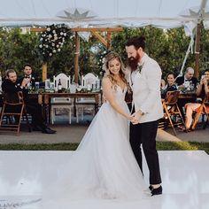 Backyard wedding reception Wedding Reception, Lace Wedding, Wedding Dresses, First Dance, Image Photography, Backyard, Weddings, Fashion, Bride Gowns