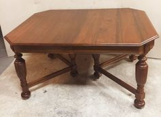 Solid Walnut Gibbard Dining Table $385