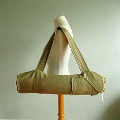 Yoga Mat Bag for Men or Women - Wheat Yoga Bag