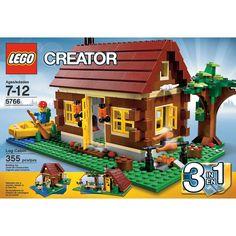 LEGO® 3-In-1 Log Cabin
