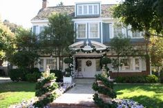 Bree's house on Wisteria Lane > maison bourgeoise
