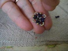 tutorial.........come ricoprire la base (12 mm) degli orecchini a clip