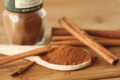 Cinnamon is from the wild tree genus Cinnamomum. The branches are prepared and dried to form cinnamon sticks, which are then grounded into a powder. It has been used for thousands of years in medical applications, such as treating coughing, arthritis, muscle spasms, vomiting, and loss of appetite. Research shows that cinnamaldehyde – a chemical found in cassia cinnamon, can help treat fungal and bacterial infections. Pair it with nutmeg, blueberries, apples, ginger, or chocolate. #cinnamon