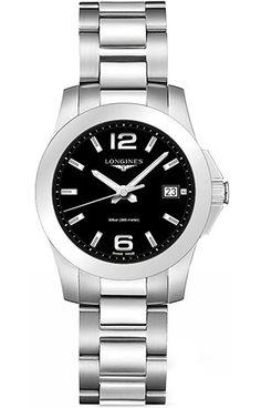 Longines Conquest 34mm Watch - L3.377.4.58.6