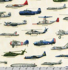 Military aircraft fabric